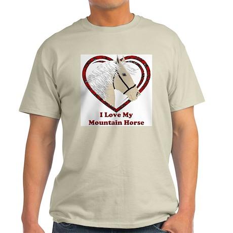 MHLoveP Ash Grey T-Shirt