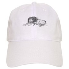 Lion Sketch Baseball Cap
