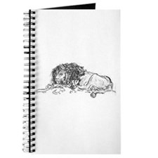 Lion Sketch Journal