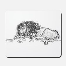 Lion Sketch Mousepad