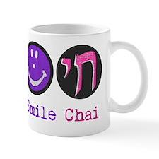 peace_smile_chai_pink Mug