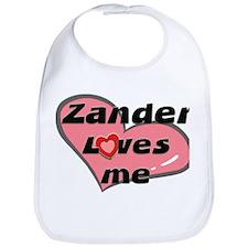 zander loves me  Bib