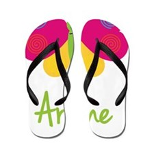 Arlene-the-butterfly Flip Flops