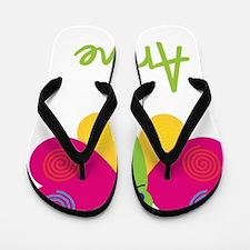 Arlene-the-butterfly Flip Flops