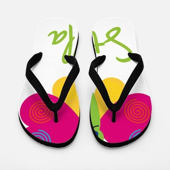 Stella-the-butterfly Flip Flops