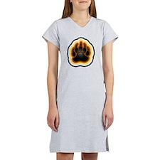 paw 2 large Women's Nightshirt