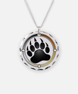 Bear Paw In Pride Circle Necklace