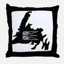 Newfoundland Canada Throw Pillow