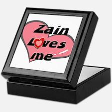 zain loves me Keepsake Box