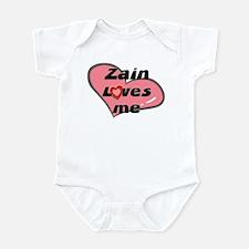 zain loves me  Infant Bodysuit