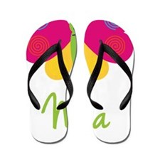 Nina-the-butterfly Flip Flops