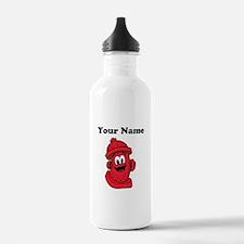 Personalizable Fire Hydrant Water Bottle