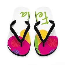 Felicia-the-butterfly Flip Flops