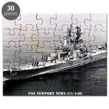 nnews framed panel print Puzzle