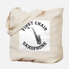 First Chair Sax Tote Bag