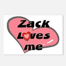 zack loves me  Postcards (Package of 8)
