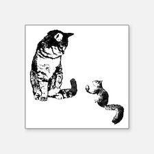 """Peace Treat Square Sticker 3"""" x 3"""""""