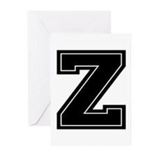 Z Greeting Cards (Pk of 10)