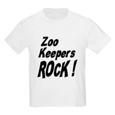 Zoo Keepers Rock ! Kids T-Shirt