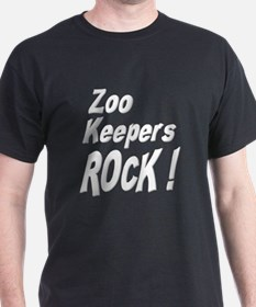 Zoo Keepers Rock ! T-Shirt