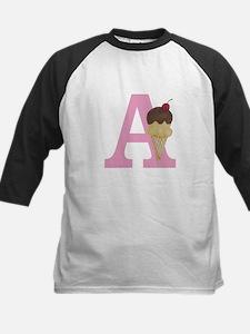 Pink A Ice Cream Cone Baseball Jersey