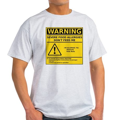 cp_warning__p_t Light T-Shirt