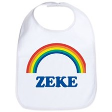 ZEKE (rainbow) Bib