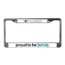 not for hire License Plate Frame