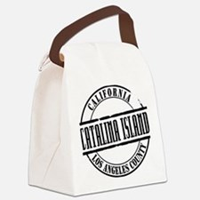 Catalina Island Title W Canvas Lunch Bag