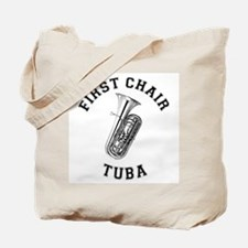 First Chair Tuba Tote Bag