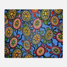 turtleheavenmousepad Throw Blanket
