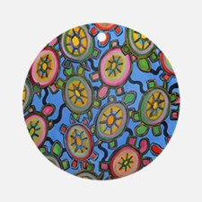 turtleheavenmousepad Round Ornament