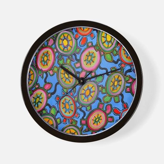 turtleheavenmousepad Wall Clock