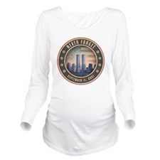 july11_never_forget_ Long Sleeve Maternity T-Shirt