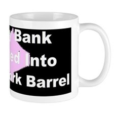 anti obama my piggy_bank_3d Mug