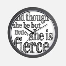 she be little Wall Clock