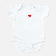 I Heart BARACK-BREAK-OBAMA Infant Bodysuit