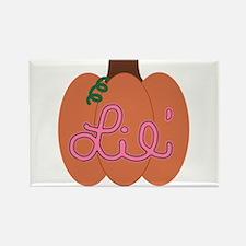Lil Pumpkin Pink Magnets