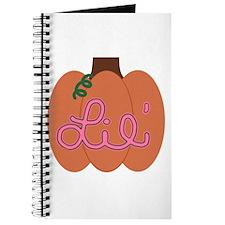 Lil Pumpkin Pink Journal