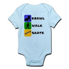 Crawl Walk Skate Body Suit