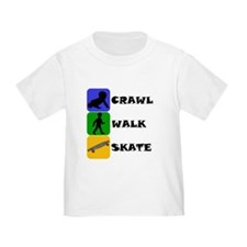 Crawl Walk Skate T-Shirt