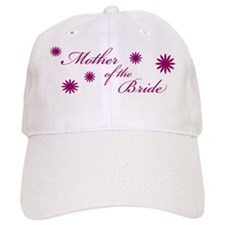 mother of the bride flowers Baseball Cap