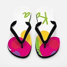 Karla-the-butterfly Flip Flops
