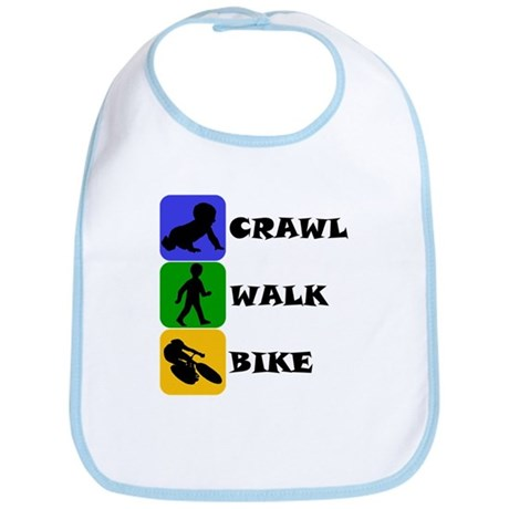 Crawl Walk Bike Bib