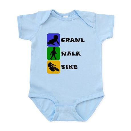 Crawl Walk Bike Body Suit