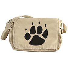 Pawprint_b Messenger Bag