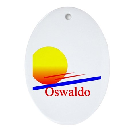 Oswaldo Oval Ornament