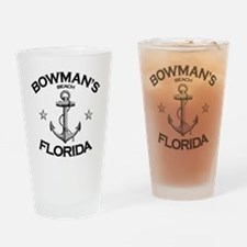 BOWMANS BEACH FLORIDA copy Drinking Glass