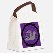 snail 4566 Canvas Lunch Bag