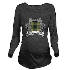 Fitzpatrick Tartan S Long Sleeve Maternity T-Shirt